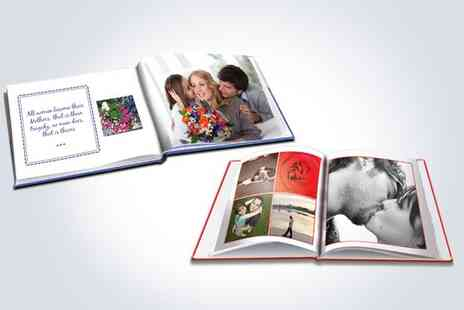 2M Photobooks - Personalised 26 page A4 hardcover portrait photobook - Save 67%