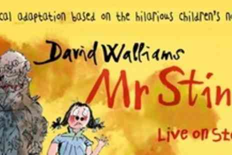 The Grand Theatre - Two Tickets For the Musical Adaptation of David Walliams Mr Stink - Save 61%