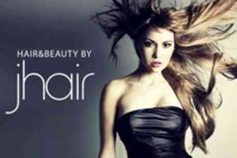 Hair and Beauty by Jhair - Full Head of Highlights, Lowlights or Colour Plus Cut and Blow Dry - Save 66%