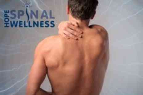 Hope Spinal Wellness - Chiropractic Consultation With Spinal Adjustment and Sports Massage - Save 72%