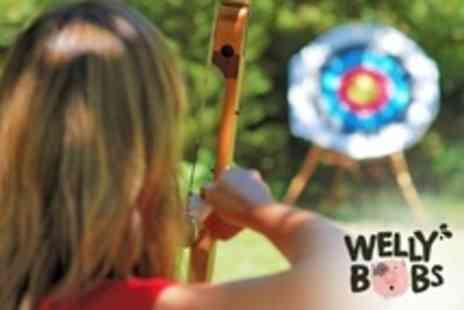 Wellybobs Farm Park - Two Hour archery experience Session For One - Save 50%
