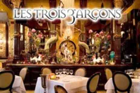Les Trois Garçons - Three Course La Carte Lunch For Two - Save 50%