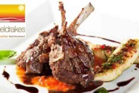 Sheldrakes - Three Courses of Mediterranean Cuisine For Two - Save 61%