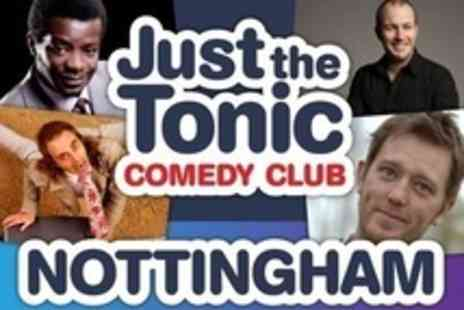 Just the Tonic Comedy Club - Live Saturday Night Comedy For Two With Glass of Wine, Beer or Cider Each and Nightclub Entry - Save 63%