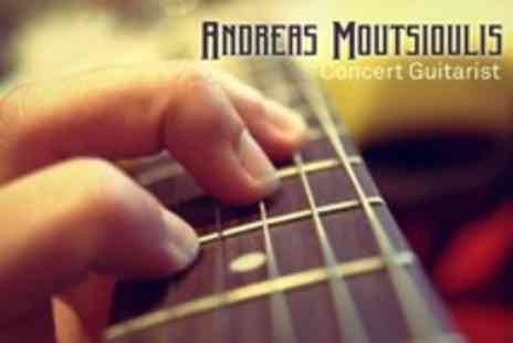 Andreas Moutsiouolis Guitar Tuition - Three 45 Minute Private Guitar Tuition Lessons - Save 70%