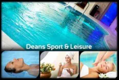 Deans Sport and Leisure - Floatation Treatment and Indian Head Massage With Spa Access - Save 59%