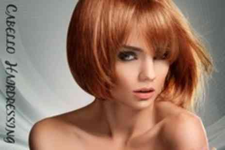 Cabello Hairdressing - Cut and Finish With Wella Conditioning Treatment - Save 54%