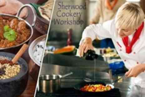 The Sherwood Cookery Workshop - Indian Cookery Class With Take Home Curry - Save 68%