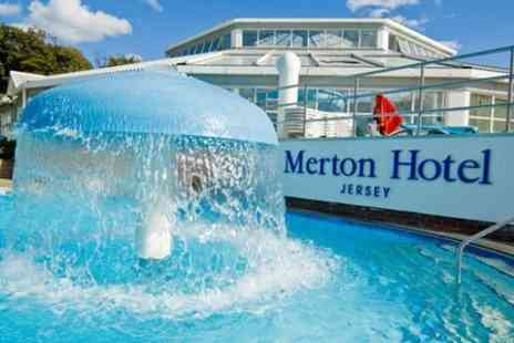 Premier Holidays - In Jersey Three Night Half Board Stay For Two at Merton Hotel With Car Hire and Ferry Tickets - Save 55%