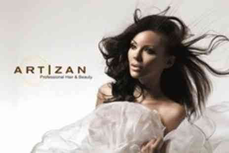 Artizan Professional Hair - Restyle Plus Head Massage,Conditioning and Finish With Salon Director - Save 77%