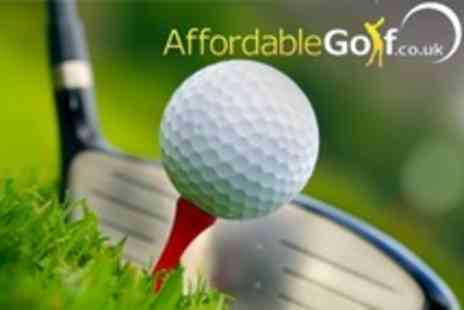 Affordable Golf - Two Indoor Individual PGA Professional Golf Lessons - Save 80%