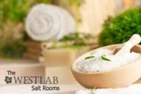 The Westlab Salt Rooms - Salt Cave Therapy Session Plus Massage or Facial For One - Save 76%