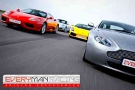 EveryMan Racing - Supercar Driving, Performance Lap and Off Road Passenger Experience - Save 34%
