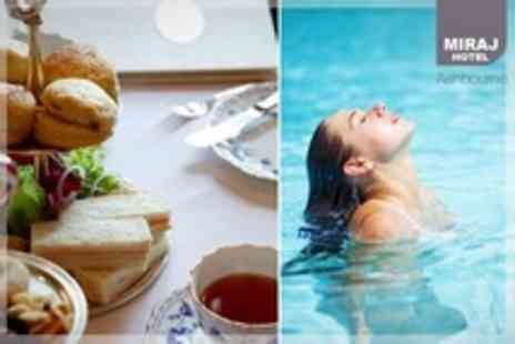 Miraj Hotel and Leisure Club - Afternoon Tea For Two With Access to Pool, Sauna and Steam Room - Save 37%
