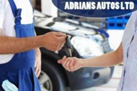 Adrians Autos - 54 Point Car Service With Oil and Filter Change - Save 62%