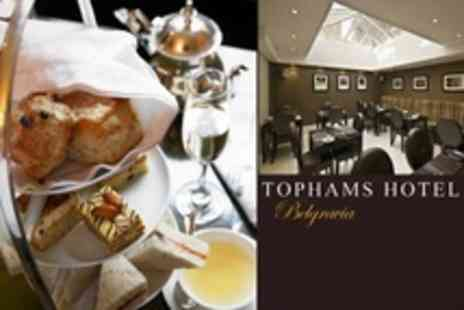 Tophams Hotel - Champagne Afternoon Tea For Two - Save 59%
