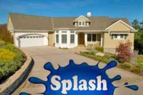 Splash Clean Caerleon - Driveway Cleaning - Save 55%