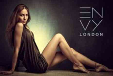 Envy London - Photoshoot Including Makeover For One With Digitally Retouched Prints - Save 90%