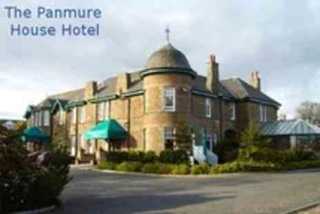 Panmure House Hotel - In Monifieth One Night Stay For Two With Two Course Dinner and Breakfast - Save 56%