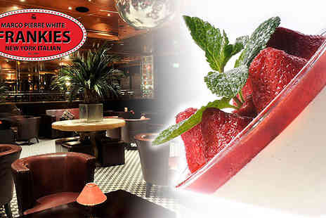 Frankies Knightsbridge - Marco Pierre White Dining Experience for two people with a 2 course meal  - Save 69%