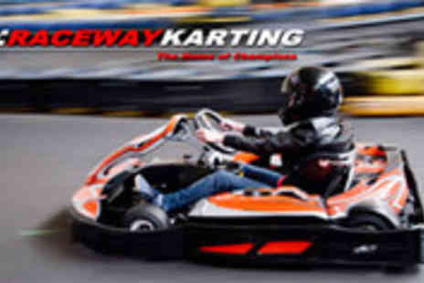 Raceway Karting - Shoot Out go kart racing session - Save 56%
