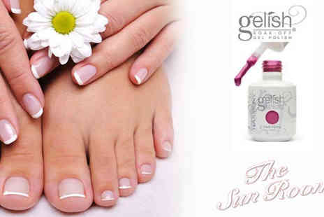 The Sun Room - Gelish manicure on a pristine set of nails - Save 49%