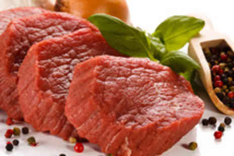Highland Foods - Exotic meat hamper featuring: 2x 8oz kangaroo steaks - Save 50%