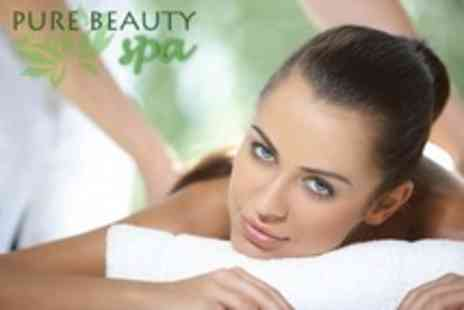 Pure Beauty Spa - One Hour Swedish or Aromatherapy Full Body Massage Plus Thalgo Facial - Save 77%