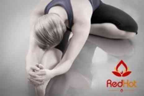 Red Hot Yoga - Ten Hot Yoga Classes For One - Save 32%