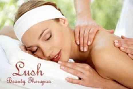 Lush Beauty Therapies - Massage Plus Manicure and Pedicure - Save 61%