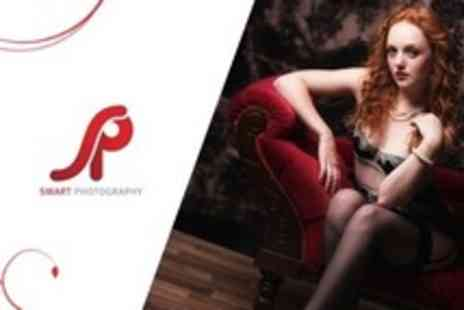 Smart Photography - Boudoir Photoshoot With Makeover and Two Prints - Save 94%