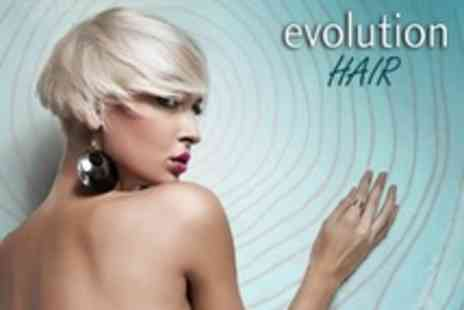 Evolution - Cut and Finish With Conditioning Treatment - Save 61%