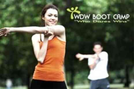 WDW Boot Camps - Ten Boot Camp Sessions Plus Nutrition Seminar For One - Save 69%