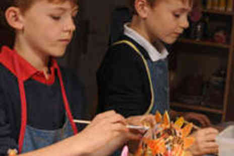 Kiss The Fish - Decopatch Session with Milkshake and Tray Bake - Save 53%