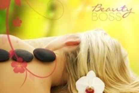 Beauty Boss - One Hour Full Body Massage Such as Hot Stone - Save 63%