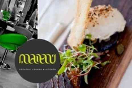Maitai Cocktail Lounge - Sharing Platter, Wine and Choice of Grazing Dish - Save 55%
