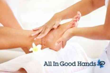 All In Good Hands - Reflexology With Consultation - Save 51%
