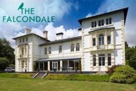 The Falcondale - In West Wales One Night Stay For Two With Tasting Menu, Afternoon Tea and Breakfast - Save 54%