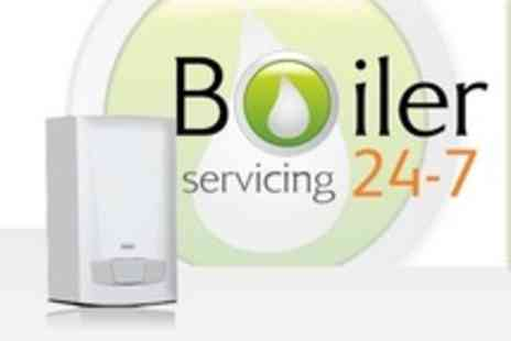 Boiler Servicing 24-7 - Boiler Service With CP12 Certification and Clean - Save 61%