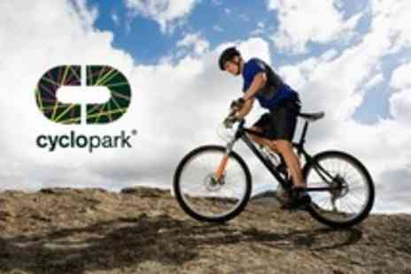 Cyclopark - Kids Cycling Two Hour Intro to Mountain Biking or Road Cycling With Milkshake - Save 50%