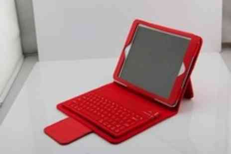 Gal Cochrane - Ipad 360 Degrees Rotating Stand incl keyboard for iPad and iPad mini - Save 53%