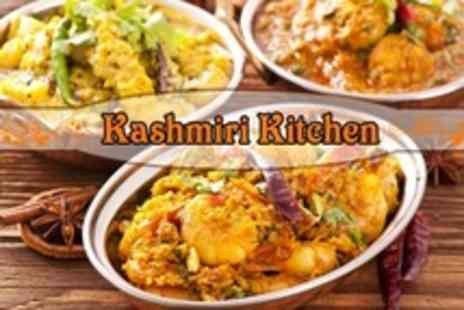Kashmiri Kitchen - Two Course Indian Meal With Rice For Two - Save 51%