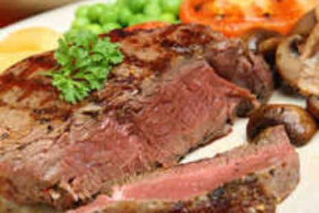 The Duke Hotel - Steak Meal for Two with Wine - Save 52%