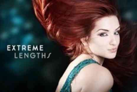 Extreme Lengths - Half Head Highlights or Full Head Colour With Restyle Cut and Blow Dry - Save 63%