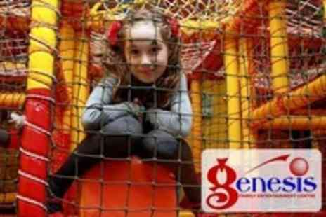 Genesis Family Entertainment Centre - Kids Soft Play Two Hour Soft Play Session For Two Children Plus Refreshments - Save 62%