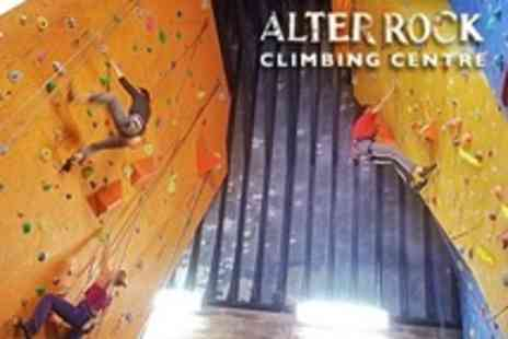 Alter Rock Climbing Centre - Rock Climbing Introductory Course For One - Save 61%