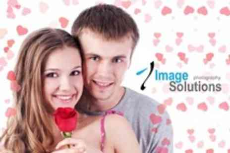 Image Solutions Photography - Photoshoot For One With Photo Blocks and Print - Save 95%