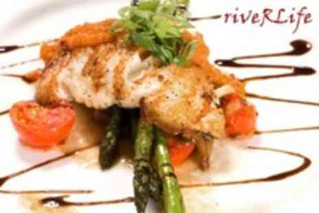 Riverlife - French Provencale Cuisine Two Course Caribbean Inspired Meal For Two - Save 54%