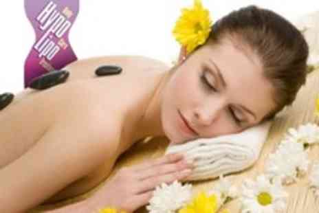 HypoLipo - Hot Stone Massage and Facial With Manicure - Save 45%