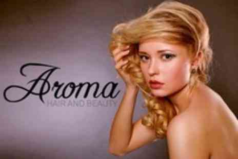 Aroma Hair and Beauty - Half Head of Highlights With Cut and Blow Dry - Save 60%